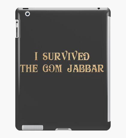 I Survived The Gom Jabbar iPad Case/Skin