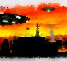Invasion Earth Raphael Terra by esotericaart
