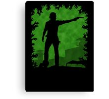 The Apocalypse - Rick Grimes Canvas Print