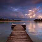 The Pier - Mossy Point NSW by Malcolm Katon