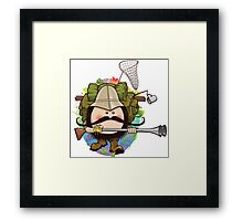 The Fosseway Fuzzies - Gunther Lunch Framed Print