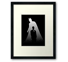 The Dark Knight - Identity Framed Print