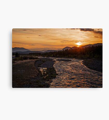 Solstice Sunrise on Quill Creek Canvas Print