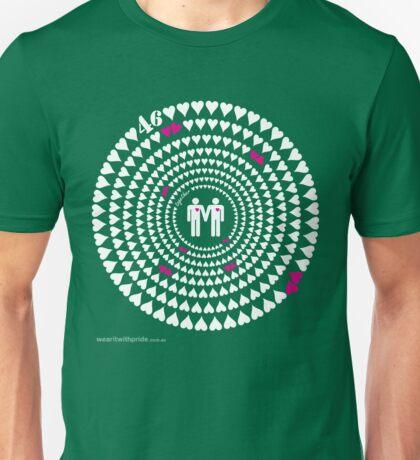 T-Shirt 46/85 (Relationships) by Andrew Ganassin T-Shirt  Unisex T-Shirt