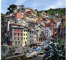 Riomaggiore, Italy Photographic Print
