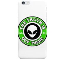 THE TRUTH IS OUT THERE - ALIEN HEAD iPhone Case/Skin