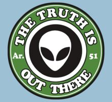THE TRUTH IS OUT THERE - ALIEN HEAD One Piece - Short Sleeve