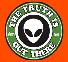 THE TRUTH IS OUT THERE - ALIEN HEAD Kids Tee