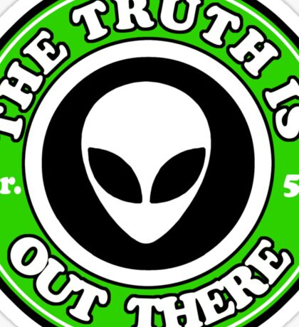THE TRUTH IS OUT THERE - ALIEN HEAD Sticker