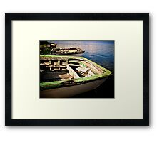 (Two) Bows Framed Print