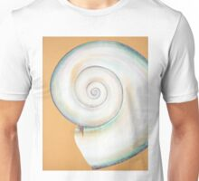 White Moon Shell Unisex T-Shirt