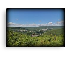 Jim Thorpe From Above Canvas Print