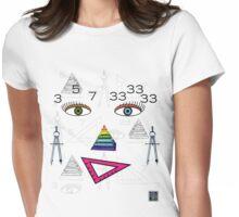 """SHEmasons""© Womens Fitted T-Shirt"