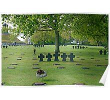 German War Memorial, Normandy, France Poster