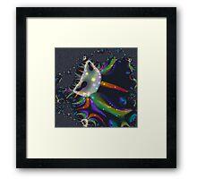 A Mandelbrot Baby Framed Print