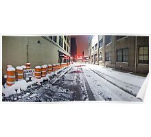 SIDEWALK CLOSED - Rochester NY Poster