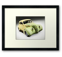 1938 Hot Rod Ford Coupe Framed Print