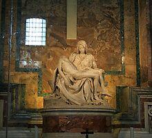 Michelangelo's La Pietra. by patti4glory