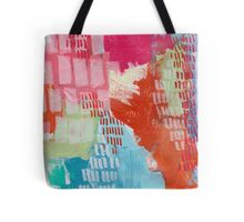 Wild and Free - Textured Abstraction Tote Bag