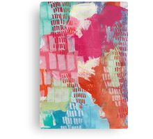 Wild and Free - Textured Abstraction Metal Print