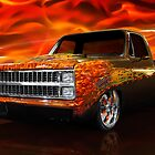Hot Rod Chevrolet Scotsdale 1978 by ArtNudePhotos