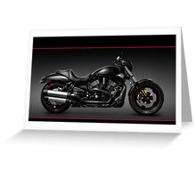 Harley Davidson VRSCD Night Rod Special Greeting Card