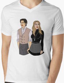 Charles & Raven Mens V-Neck T-Shirt