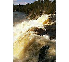 High Falls Spring Runoff Photographic Print
