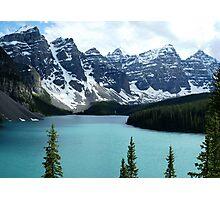 Moraine Lake Alberta Photographic Print