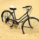 Snow Bicycle by AlbertStewart