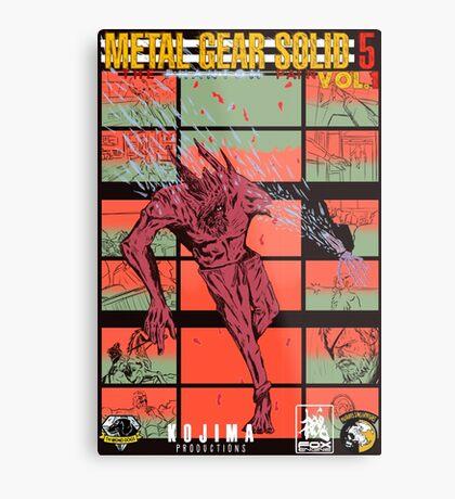 Fake Metal Gear Solid V Graphic Novel cover Metal Print