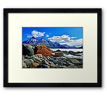 Waterton National Park, Alberta, Canada Framed Print