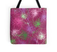 Abstract plants Tote Bag