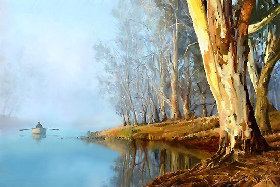 Into the Misty River Morn by sirthomas1960