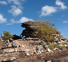 Attractive rock formation in the Top End by georgieboy98