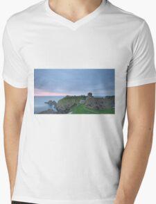 Dunnottar Castle at Sunrise Mens V-Neck T-Shirt