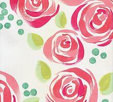 Pink Peonies by angelique devitte