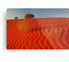 Sundown,Simpson Desert Metal Print