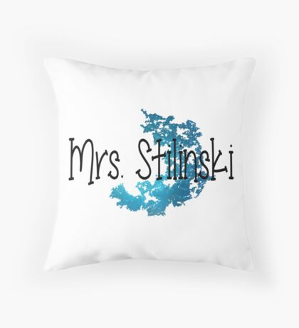 Stiles Stilinki's Wife Throw Pillow