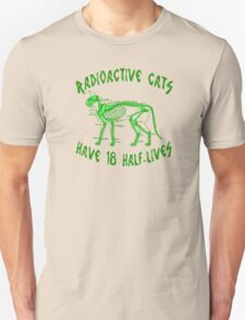 Radioactive Cats Unisex T-Shirt