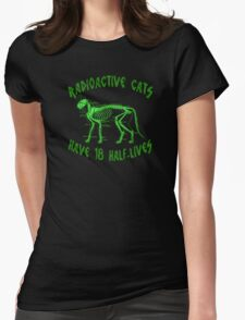 Radioactive Cats Womens Fitted T-Shirt