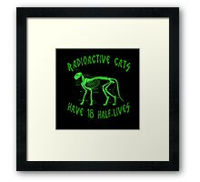 Radioactive Cats Framed Print