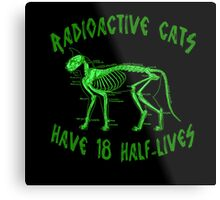 Radioactive Cats Metal Print