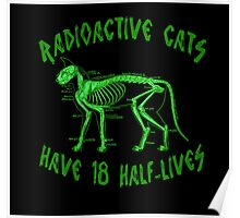 Radioactive Cats Poster