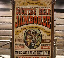 Country Bear Jamboree by carlykuhlman