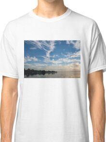 Of Feathery Clouds and Tranquil Mornings Classic T-Shirt