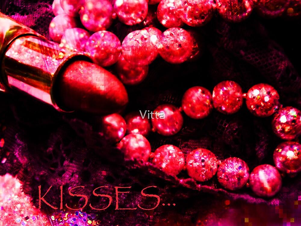 Card. Kisses. by Vitta