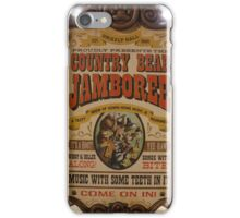 Country Bear Jamboree iPhone Case/Skin