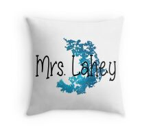 Isaac Lahey's Wife Throw Pillow