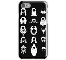 The Bearded Company White and Black iPhone Case/Skin
